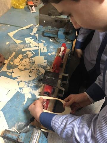 نمایشگاه و کارگاه خلاقیت و دست ورزی در دبیرستان پسرانه ملاصدرا