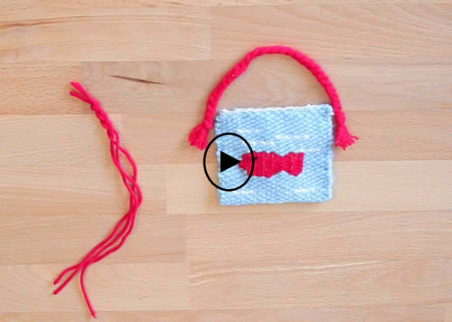 ساخت یک کیف کوچک با دار بافندگی کوچک ایپکا
