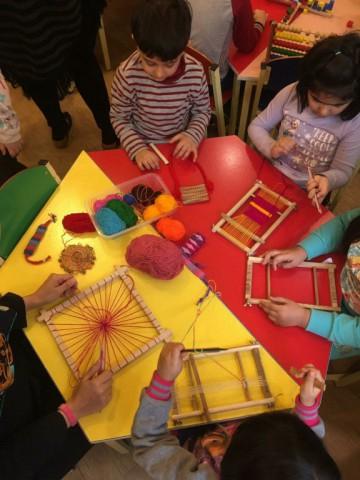 نمایشگاه و کارگاه خلاقیت و اتاق بازی در پیش دبستانی نغمه ارشاد