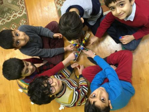 نمایشگاه و کارگاه خلاقیت و اتاق بازی در پیش دبستانی مفید