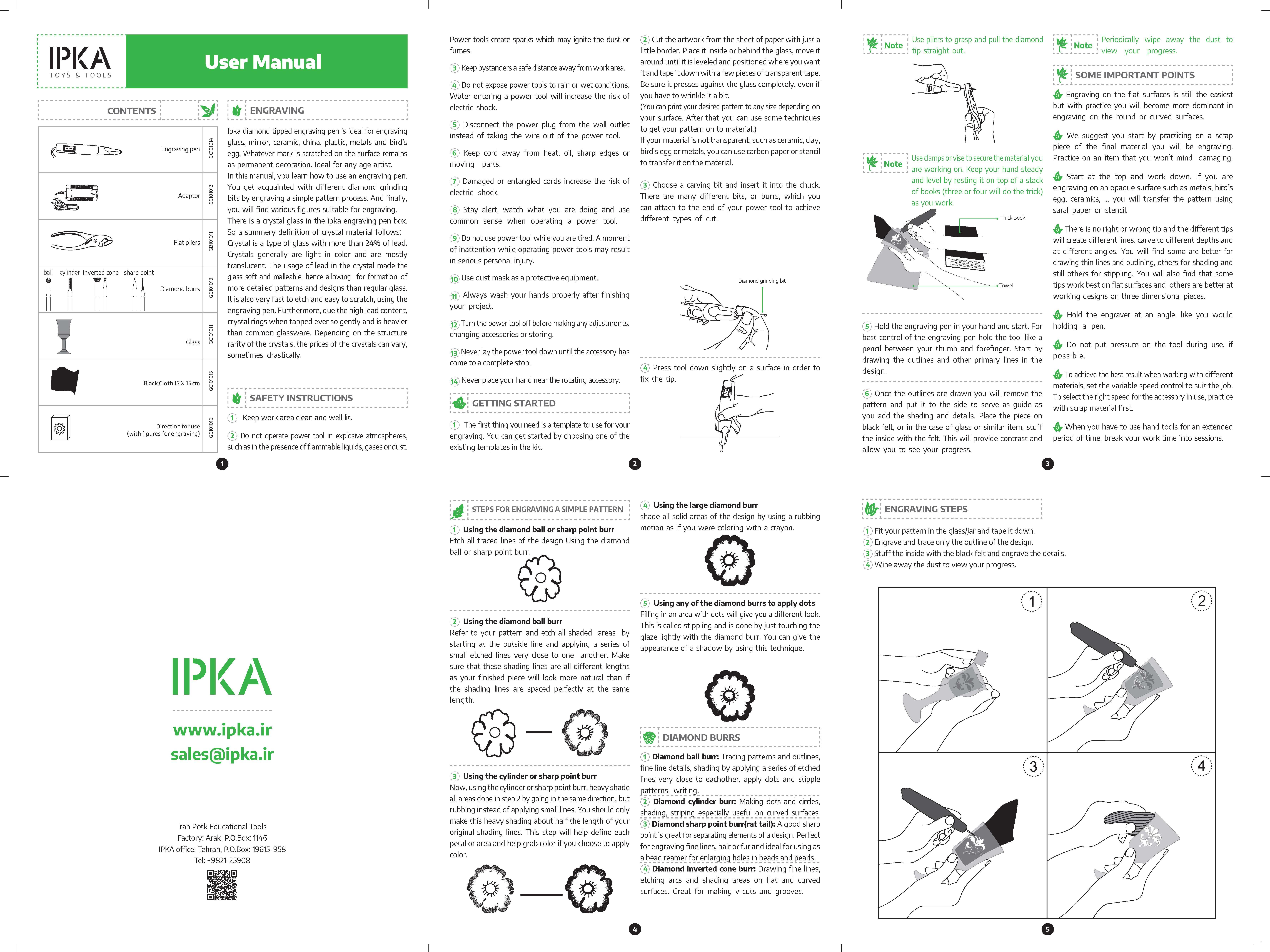 Engraving Pen - IPKA