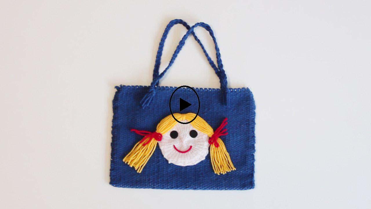 چگونه برای اولین بار یک کیف زیبا ببافیم؟