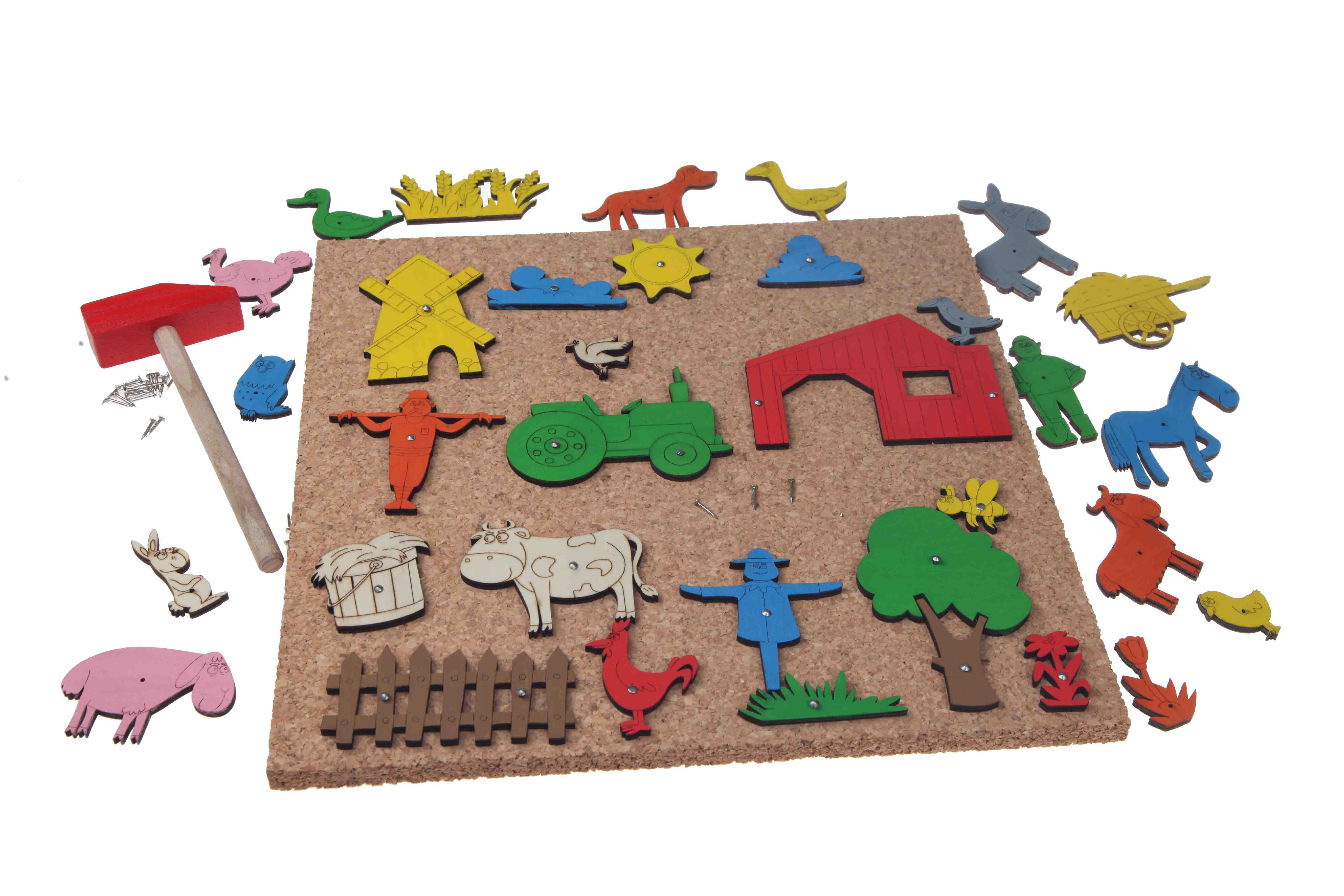 Hammer and pin Toy Farm
