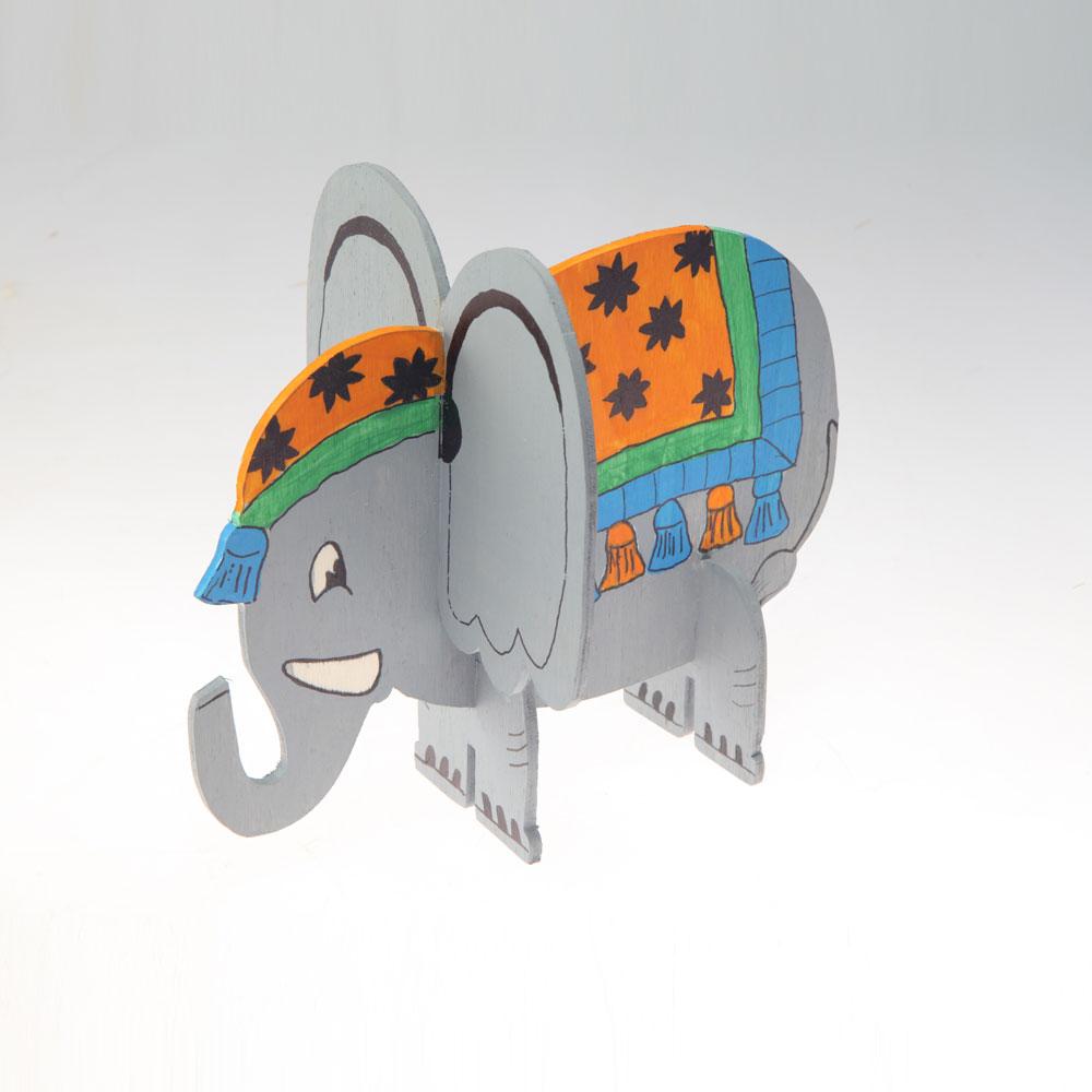 پازل طرح فیل